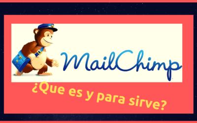 ¿Qué es mailchimp y para qué sirve ?