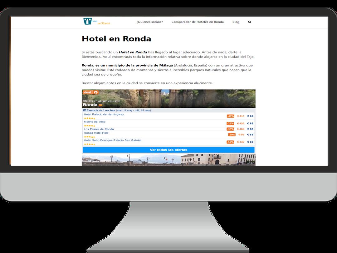Hotel en Ronda