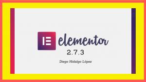 Elementor pro 2.7.3